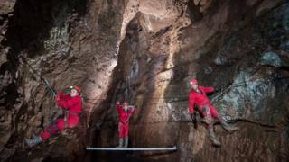 薩默塞特郡的一處洞穴