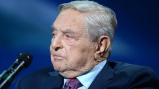 Founder and Chair, Soros Fund Management and the Open Society Foundations George Soros attends 2016 Concordia Summit - Day 2 at Grand Hyatt New York on September 20, 2016 in New York City