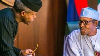 Yemi Osinbajo ati Muhammadu Buhari