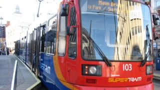 Sheffield Supertrams