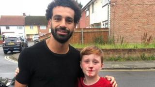 Mohamed Salah fi Louis funyaan isaa madaa'e yeroo mul'atu