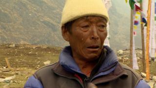 Dawa Sherpa lost his wife, son and grandson - he hasn't slept for a year