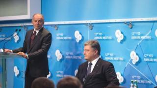 Виктор Пинчук и Петр Порошенко