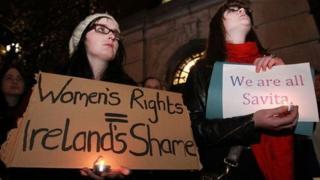 الإجهاض في أيرلندا