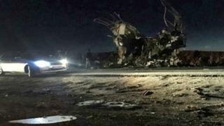 ईरान में धमाके वाली जगह