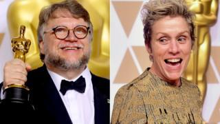 Guillermo del Toro ati Frances McDormand