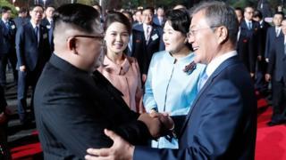 رئيسا الكوريتين