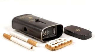 "JPS ""Spy Camera"" Disguised in a Cigarette Tin"