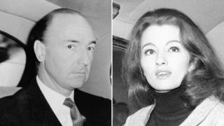 John Profumo & Christine Keeler