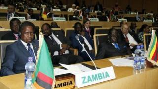 Viongozi wa bara la Afrika katika mkutano wa awali nchini Ethiopia