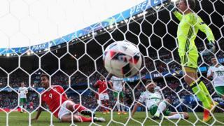 Northern Ireland's own goal