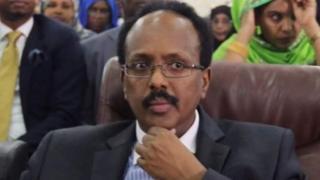 Shugaba Mohamed Abdullahi Mohamed na somalia