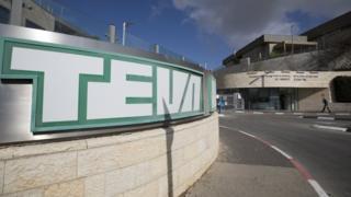 Teva Pharmaceutical Industries headquarters in Jerusalem (14 December 2017)