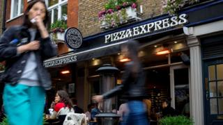 Pizza Express restaurant