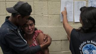 Víctimas en Guatemala