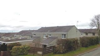 Social housing at Llangefni, Anglesey