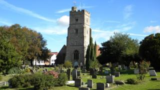 Rainham church break-in: Thieves smash stained glass windows