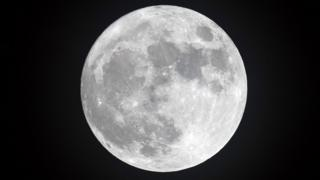 Picture shows the moon!