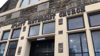 Oasis centre is based at the former Splott Methodist Church