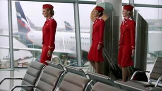 Evgenia Magurina, hôtesse de l'air chez Aeroflot, a remarqué au fil du temps que les uniformes fournis n'étaient pas à sa taille.