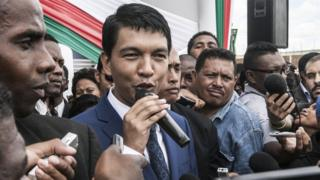 Andry Rajoelina, le président malgache - archives
