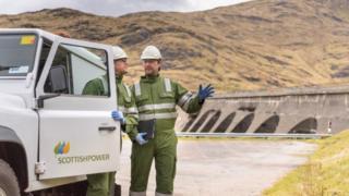 Scottish Power staff