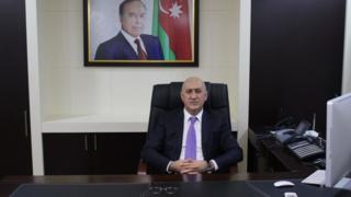 Rayon İcra Hakimiyyətinin başçısı Arif Qasımov