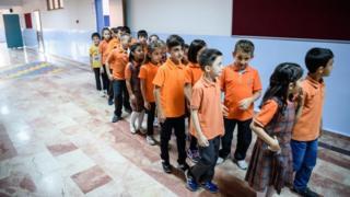 Школьники в Турции