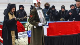 Büyükelçi Karlov'un cenazesi