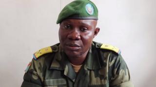 Umuvugizi w'ingabo za DR Congo Major Ndjike Kaiko