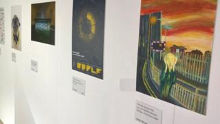 Art in exhibition
