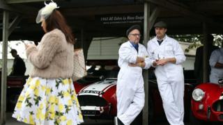 Goodwood Revival: Racing fans and vintage lovers turn out for event