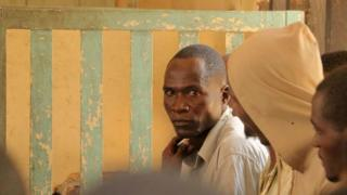 Eric Aniva in court in Nsanje in August 2016
