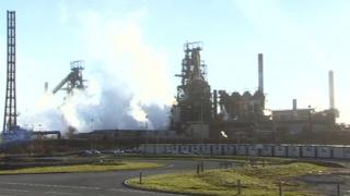 Photo of Port Talbot steelworks
