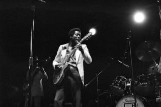 Buddy Guy at ChicagoFest, 1979