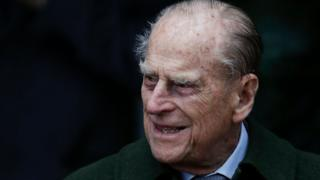 Duke of Edinburgh on 25 December 2017