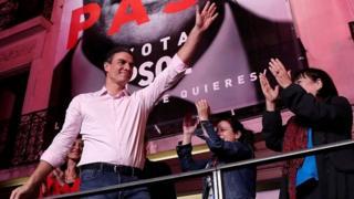 پیروزی سوسیالیستها در انتخابات سراسری اسپانیا