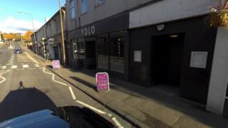 Envi Nightclub in Hopetoun Street in Bathgate