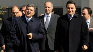 Eski Başbakan Yardımcısı Ali Babacan'ın, 11. Cumhurbaşkanı Abdullah Gül