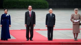 Chủ tịch nước Trần Đại Quang là nguyên thủ nước ngoài đầu tiên thăm cấp Nhà nước tới Nhật Bản trong năm 2018