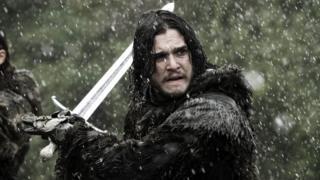 Kit Harington starring as Jon Snow in Game of Thrones