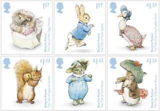 Beatrix Potter stamps