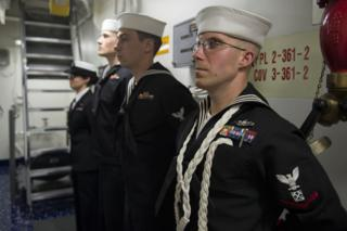US Navy on Exercise Joint Warrior