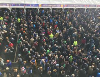 Crowds at Murrayfield