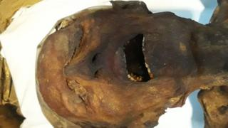 A múmia que grita
