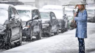 Snow in Auchterarder