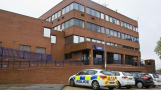 Luton police station