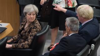 Theresa May ve Boris Johson