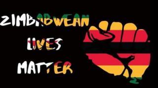 Zimbabwean Lives Matter graphic