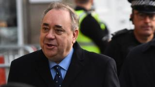 Alex Salmond accused of sexual assaults on 10 women